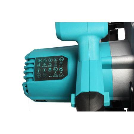 Fierastrau circular DeToolz, 1200W, 185mm, 5800 rpm + Ochelari de protectie, Profesional 8