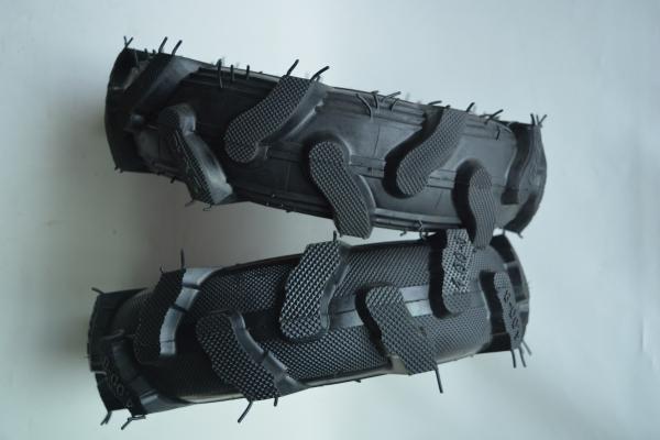 Roata pentru roaba - motocultor - ax 20mm - 2 rulmenti - crampoane - 4.00-8 4PR 5