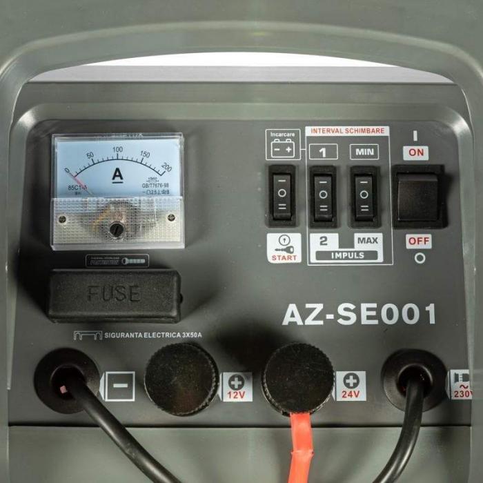 Robot pornire/Incarcator redresor baterie auto 20-1550Ah CD-630 ALMAZ AZ-SE001 2