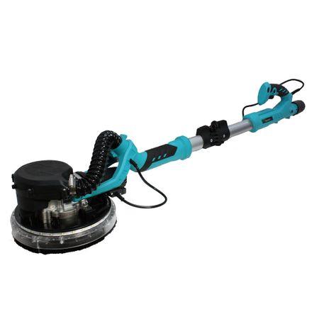 Slefuitor pentru pereti pliabil cu aspirator si LED 750W Ø225mm 5