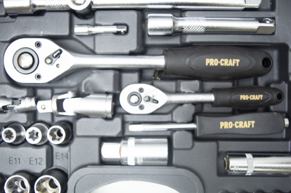 Trusa cu chei tubulare Procraft WS-108 piese 6