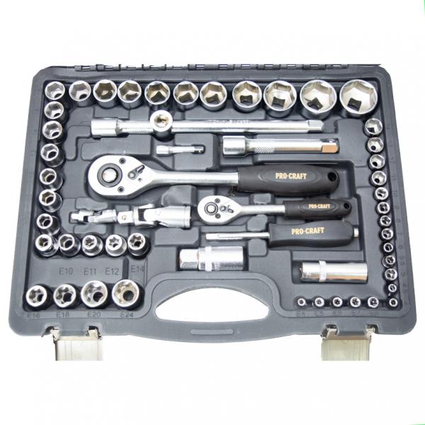 Trusa cu chei tubulare Procraft WS-108 piese 3