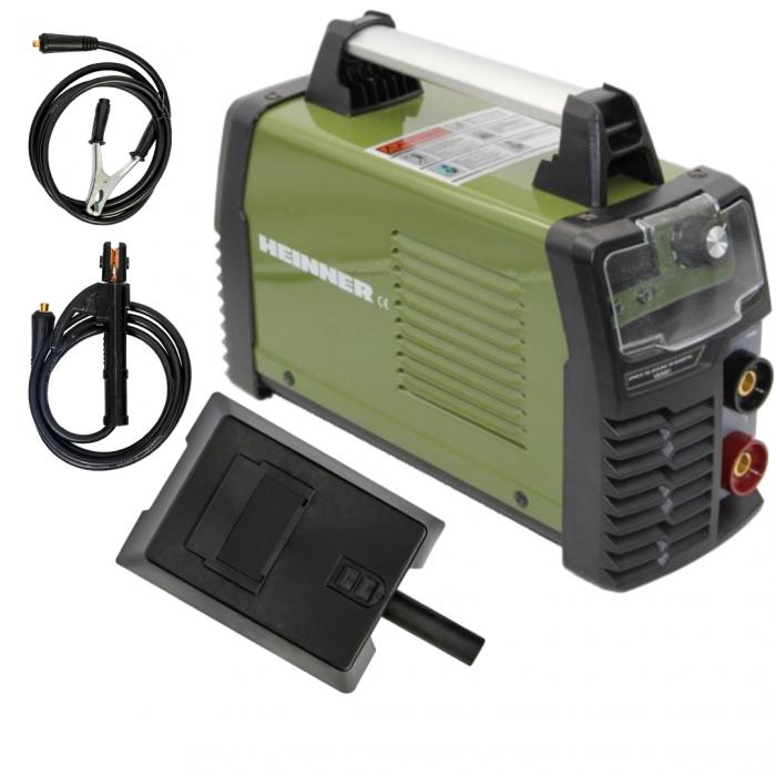 Invertor de sudura Heinner VAS001, 160 A, 220 V, electrod 2.5-4 mm, sistem pornire electric 0