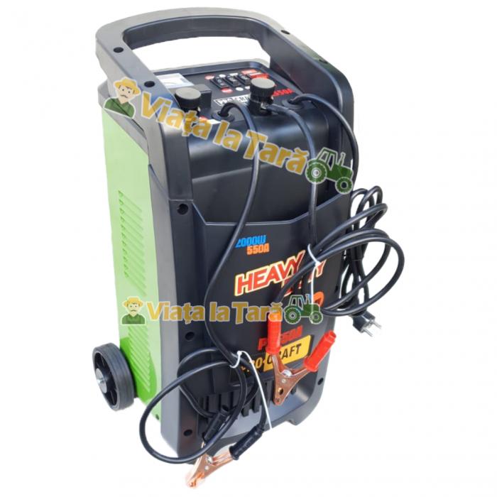 Robot incarcare auto, redresor baterie auto 12V-24V, 20-550Ah PZ550A ProCraft 0