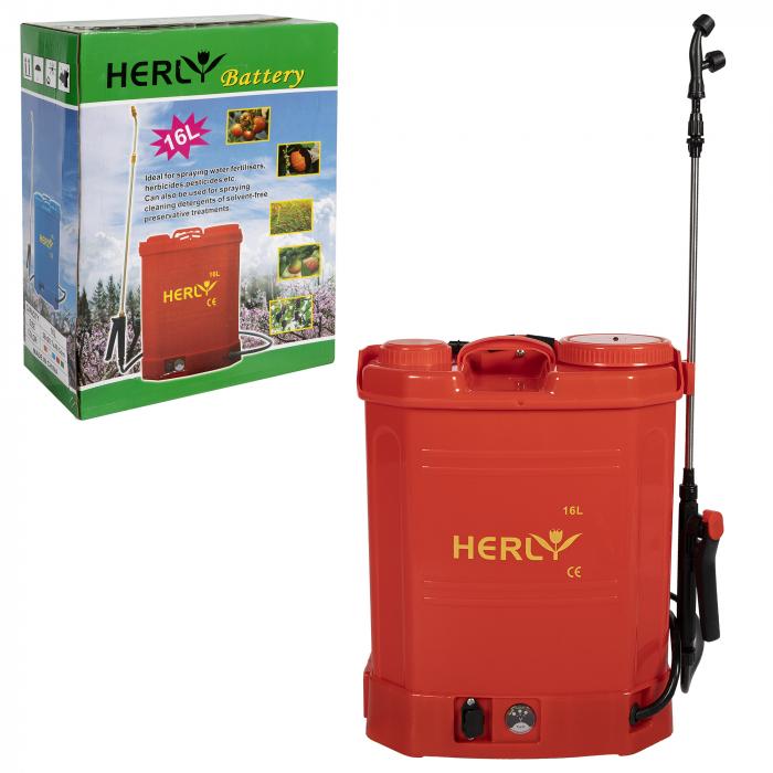 Vermorel pompa de stropit cu acumulator HERLY 16 Litri, 5 Bari [8]