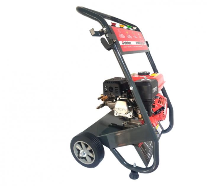 Aparat de spalat cu presiune pe benzina Elefant PPW 190A, 6.5 CP, 165 bari, 3600 rpm, Accesorii 10