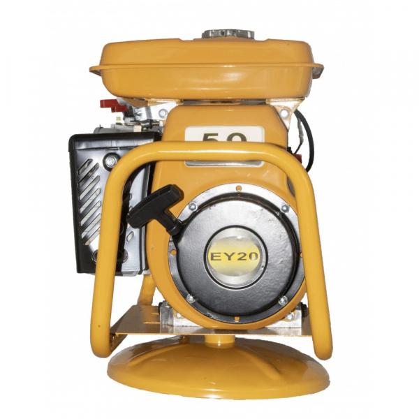 Vibrator pentru beton cu motor pe benzina EY20, 1.8KW, 4000RPM, LANCE 40CM, FURTUN 5.5M 3