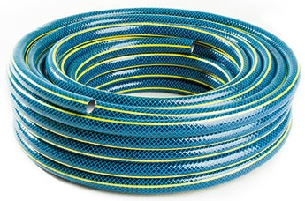 """Furtun gradina BLUEBOS PLUS 1/2"""" 20m, 3 straturi, cu set duze de conectare 1"""