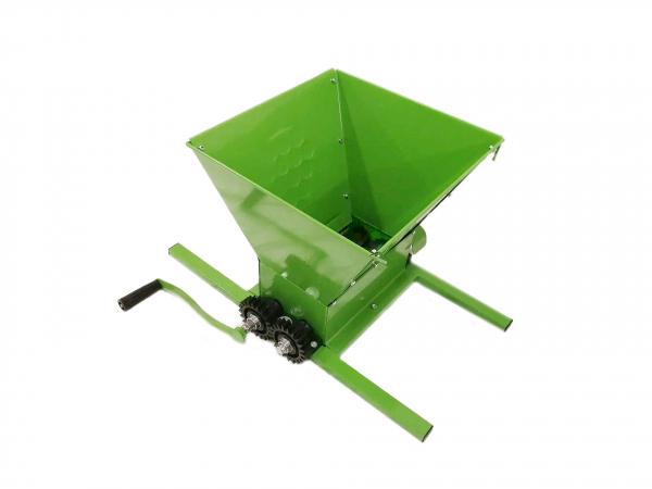 Zdrobitor de struguri manual 350KG, 25L, BULGARIA, Verde 0