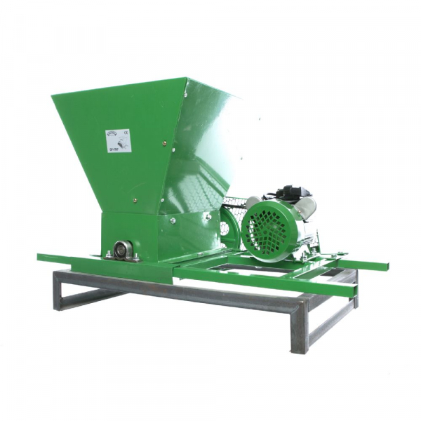 Zdrobitor Electric de Fructe si Legume, capacitate maruntire 200KG/H, putere motor 750W 17