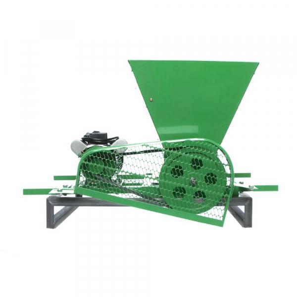 Zdrobitor Electric de Fructe si Legume, capacitate maruntire 200KG/H, putere motor 750W 3