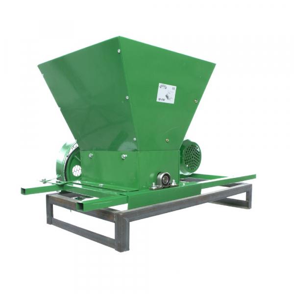 Zdrobitor Electric de Fructe si Legume, capacitate maruntire 200KG/H, putere motor 750W 12