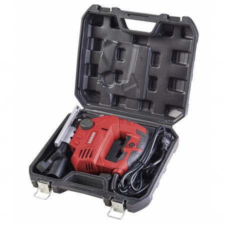 Fierastrau pendular RAIDER 800W, 100mm cu viteza variabila si laser, valiza de transport, RDP-JS341