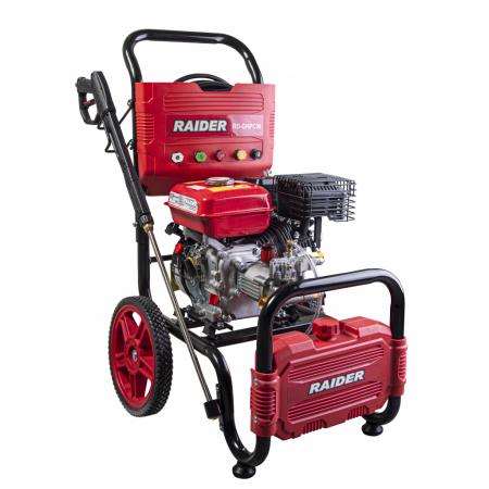 Aparat de spalat cu presiune pe benzina 6.5 CP, 4800W, 20MPa, 10L/min, RD-GHPC06 RAIDER1