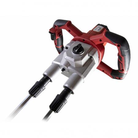 Mixer electric 1600W, 2 viteze, 2 palete, 460-620min-1 RDP-HM091