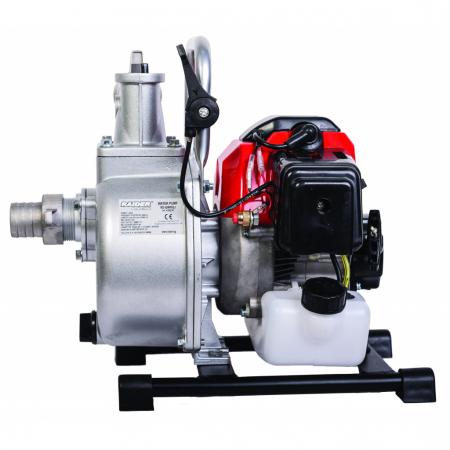 """Motopompa pe benzina 2T, 2.2CP,1.6kW 1.5"""" 317 L/min RD-GWP031"""