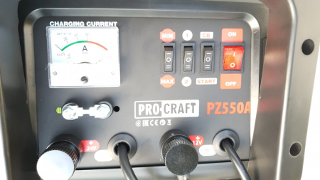 Robot incarcare auto, redresor baterie auto 12V-24V, 20-550Ah PZ550A ProCraft4