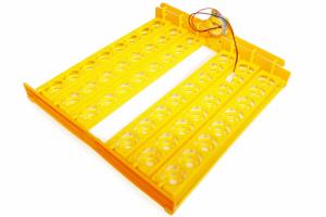 Incubator / clocitoare automata pentru 48 oua de gaina si 132 oua de prepelita, 180 W [1]
