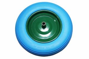Roata pentru roaba cu ax subtire, dimensiune 350-8, din SPUMA [1]