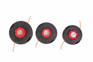 Tambur cu fir pentru motocositoare 2.4mm, 1.0F, buton ROSU MIC0