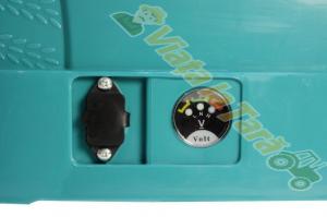 Pompa de stropit electrica Micul Fermier by Pandora 12L cu acumulator 8A, variator presiune1