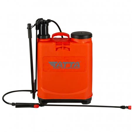 Pompa de stropit actionata manual Tatta TP-20D-1M, 20L, 2.4 bari0