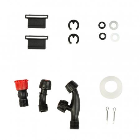 Pompa de stropit cu acumulator si actionare manuala 2 in 1 Tatta TP-1640AM, 16L, 12V4