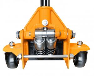 Cric hidraulic tip carucior 3 tone cu doi cilindri1