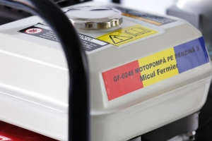 Motopompa pe benzina pe 3 TOLI putere 6,5cp debit 40000L/H6