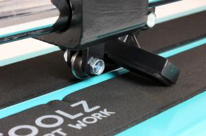 Aparat debitare gresie si faianta - 600mm, grosime 16mm, posibilitate taiere in unghi 45ᵒ DETOOLZ [10]
