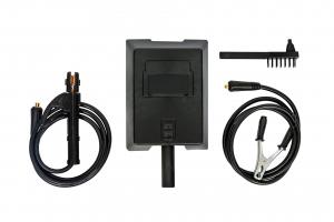 PACHET - Aparat de Sudura, Invertor Almaz 250A AZ-ES002, Electrod 1.6-4mm, accesorii incluse + Masca de sudura automata cu cristale lichide BY350F-ALOE3