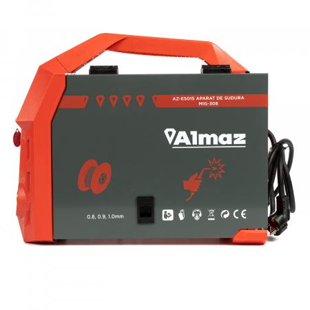 Aparat de sudura MIG-308 ALMAX, electrozi rutilici, electrozi bazici, electrozi inox4
