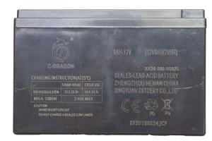 Acumulator 12v - 8 AH pentru pompa de stropit2