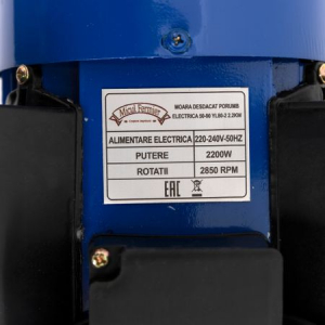 Batoza de curatat porumbul electrica ( DUBLA ) 2.2 KW turatie 2800 rpm [7]