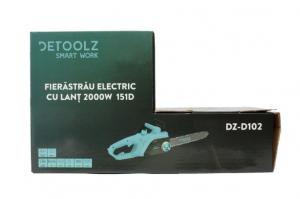 Fierastrau electric (Drujba) cu lant Detoolz DZ-D102, 2000W, lama 395mm [4]