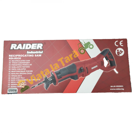 Fierastrau sabie profesional 1200 W, cu LED Raider Industrial RDI-RS306