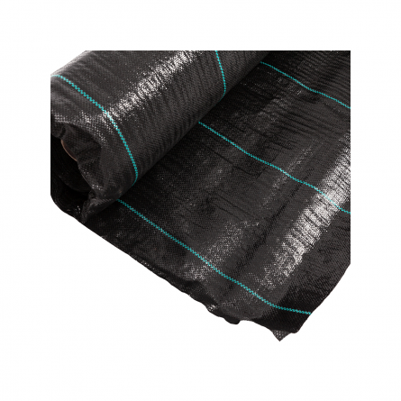 Folie pentru mulcire, antiburieni, filtru UV, 100gr/mp, Latime 1.5 m, Lungime 100 m1
