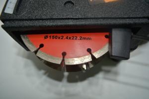Freza canelat pentru taiere beton, 1700W, 7000RPM, discuri 150mm, Procraft PM1700-15010