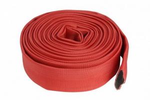 Furtun apa tip pompier 2 toli, 20m, 16 bar, fara cuple ROSU0