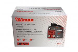 PACHET - Invertor de sudura Almaz AZ-ES001 250A Electrod 1.6-4mm, accesorii incluse + Masca de sudura automata cu cristale15