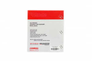 PACHET - Aparat de Sudura, Invertor Almaz 250A AZ-ES002, Electrod 1.6-4mm, accesorii incluse + Masca de sudura automata cu cristale lichide BY350F-ALOE13