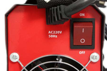 Invertor Almaz 250A AZ-ES002, Electrod 1.6-4mm, accesorii incluse + Sort din piele pentru protectie6