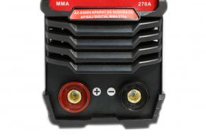 PACHET - Aparat de sudura cu afisaj digital MMA 270A Almaz, toate accesoriile sunt incluse + Masca de sudura automata cu cristale lichide16
