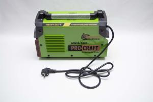 Invertor/Aparat de sudura Procraft Germany 285A, Afisaj digital, Putere 285A, Electrod 1.6-5.0 MM9