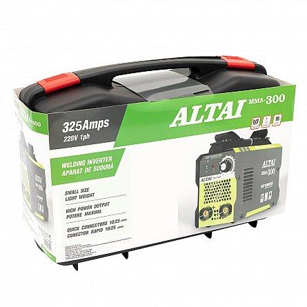 Invertor (aparat) pentru sudura MMA 300 A, ALTAI, cu valiza3