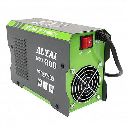 Invertor (aparat) pentru sudura MMA 300 A, ALTAI, cu valiza2