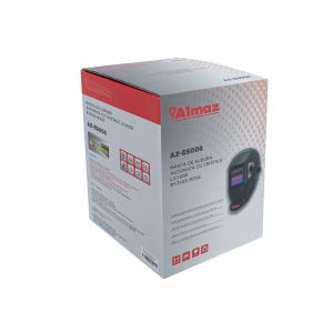 Invertor Aparat Sudura BAIKAL MMA 300A, 300Ah, diametru electrod 1.6 - 4 mm + Masca de sudura automata cu cristale8