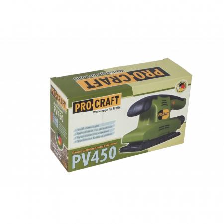 Masina de slefuit prin vibratii PROCRAFT PV450, 450W, 10000RPM2