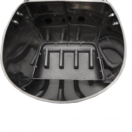 Masina de tencuit pneumatica din inox Model Premium cu duze4
