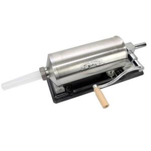 Masina de umplut carnati ( CARNATAR ) 3 kg ORIZONTAL Inox + 4 palnii MICUL FERMIER [1]